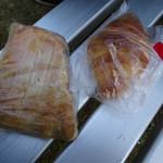 パニエ - 料理写真:アップルパイとクロワッサン