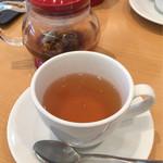 カフェイズミ - マテ茶のアップ