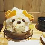 TAKAMIOKAKI - 季節のかき氷、フルーツしろくまです。(5/13〜)
