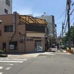 伊予 源氏車 - 角のお店