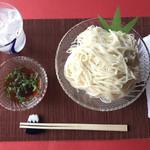 上尾そーめん きゅんきゅん亭 - さっぱりとしたノーマル素麺♪