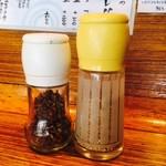 鮎ラーメン - 山椒&白胡麻も活用だ!