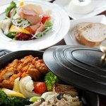 Cafe Restaurant 椎の木とイノシシ - 料理写真:椎の木ランチ ¥1,350