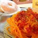 ミスタードーナツ - トマト豆乳ベジ涼風麺 ドーナツセット