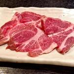 焼肉 心 - 料理写真:イベリコ豚ロース・塩