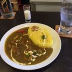スパイスカレー Iraka - とりカレー (からくち)  ※ミニ杏仁豆腐ジュース付