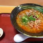 六角 - 料理写真:近江牛辛味噌ラーメン ¥980
