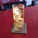 上尾そーめん きゅんきゅん亭 - 冷たい緑茶でフッと一息リフレッシュ♪