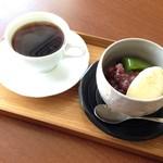 cafe 航路 - 料理写真:あんみつセット
