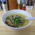 67063047 - 白湯しお(低加水麺、650円)
