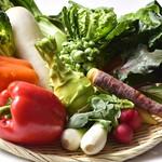 楓凛 - 料理写真:地元の新鮮野菜を毎日仕入れており、その食材の旨みを最大限に引き出す料理を提供しております。