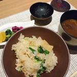 寿An - 季節の土鍋炊きご飯 竹の子と桜エビ