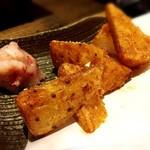 炭火焼鳥・野菜豚バラ巻 勇屋熟成鶏十八番 -
