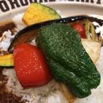 100時間カレーAMAZING - こだわり野菜アップ