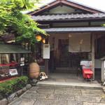 呂川茶屋 - 店舗入り口付近