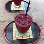 呂川茶屋 - しそジュース