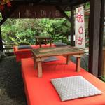 呂川茶屋 - テラス席