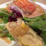 スパークリングワインと熟成肉のイタリアン ボノ セコンド - パスタランチ(税抜680円)の前菜盛合せ