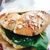 ベーグル喫茶 森の生活者 - 料理写真:ベーグルのサンドウィッチ