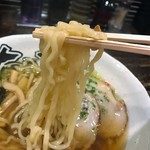 有頂天 EVOLUTION - 麺は中太麺を指名!