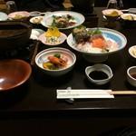 旅館 ゆのか - 料理写真:夕食