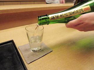 白 - 花陽浴 純米吟醸 八反錦 無濾過生原酒 埼玉南陽醸造