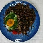 助平屋 - 黒焼きそば大盛り500円