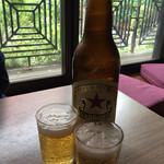 67073958 - 瓶ビールは赤星、500円。