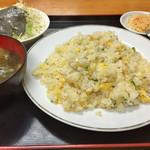 北方園 - チャーハン  600円 (実際かなりのボリューム!)
