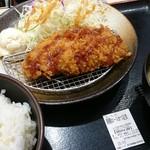 松乃家 - 朝とんかつ定食