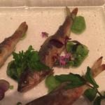 カンブーザ - 稚鮎の前菜