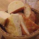 パン盛り合せ