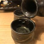 串焼き 村山 - 天青朝しぼり900円