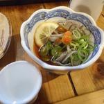 居酒屋 葉牡丹 - マグロ皮酢333円