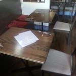 ブルスケッタ - テーブル席