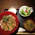焼きとりや shin - きじ焼き丼¥600