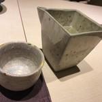 和膳と酒肴 廚 - ドリンク写真:日本酒(田酒)