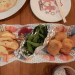 赤茄子 - チキンナゲット・ポテト・枝豆