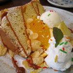 陶花 - バナナシフォンケーキ