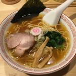 已己巳己 - 「煮干し醤油ラーメン」780円