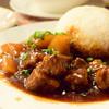 honkonwa-ki-cha-cha-ten - 料理写真:牛バラと大根のうま煮ご飯@1080円+税