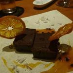 baron - デザート(生チョコ+ブラッドオレンジ)