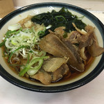 三松 - 肉そば(530円)
