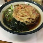 三松 - 天ぷらそば(380円)