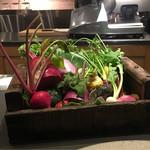 67085576 - バーニャカウダの野菜
