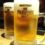 燻製と地ビール 和知 - 生ビール