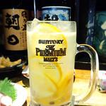 燻製と地ビール 和知 - フレッシュレモンたっぷりの??