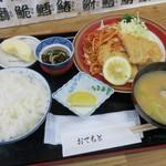 てるてる くいどころ小澤 - 料理写真:日替わり定食(¥650)