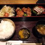 67087906 - 鶏竜田弁当 ~油淋鶏ソース~ 850円 (17年4月)