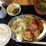 とり家ゑび寿 - 鶏カラ揚げ¥750-